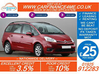 2010 CITROEN C4 GRAND PICASSO 1.6 HDI GOOD / BAD CREDIT CAR FINANCE FROM 25 P/WK
