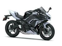 New 2020 Kawasaki Ninja 650 PERFORMANCE *LAST 1*SAVE £750* BLACK & WHITE **