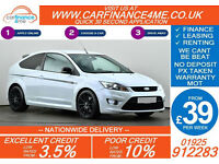 2010 FORD FOCUS 2.5 ST-3 GOOD / BAD CREDIT CAR FINANCE FROM 39 P/WK