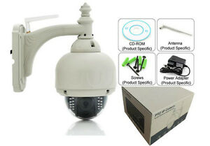P2P Wireless wifi 720P 1280*720 H.264 PT Pan Tilt Speed Dome IP