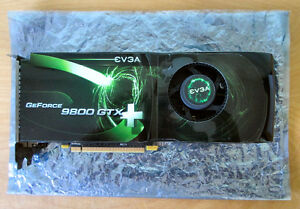 EVGA e-GeForce 9800 GTX Superclocked+ 512 MB PCIe graphics card