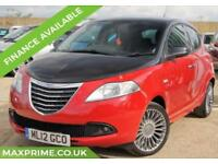 CHRYSLER YPSILON 1.2 BLACK AND RED 5D 70BHP SERVICE HISTORY + JUST SERVICED