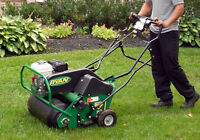 LAWN AERATION - SAVE!!!