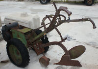 Antique Tractor with Attachement