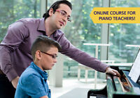 Online Course - Elementary Piano Pedagogy Training