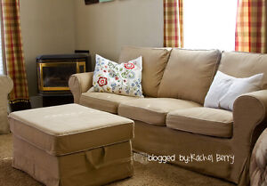 Ikea Ektorp Couch Covers (Love Seat and Full Size) Beige