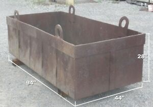 Heavy Duty Steel Tote Box