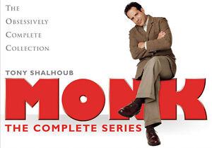 Je veux des DVD de Monk et autres!