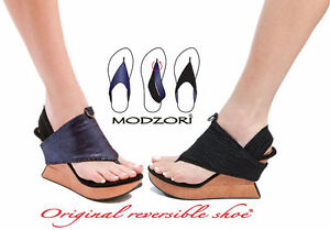 NEW - Modzori convertible wedge sandal Sarnia Sarnia Area image 1