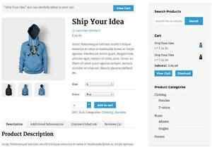 Ecommerce Shop Design Downtown-West End Greater Vancouver Area image 1