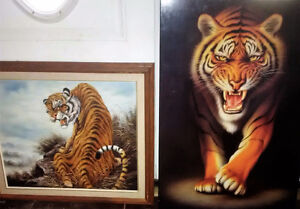 Two awesome tigers