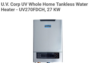 Electric Thankless Hot Water Heater