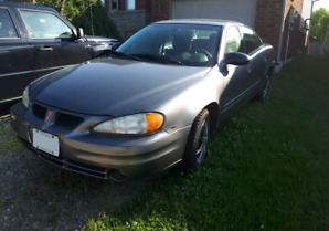 $2250. 2003 Grand Am. Only 118,000km