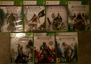 XBOX 360 Assassins Creed games (Various Prices)