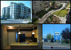 Secure Edmonton Condo - Ideal for Students - Steps from LRT