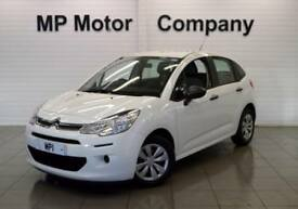 2015 15 CITROEN C3 1.0 PURETECH VT 5D 67 BHP ECONOMICAL HATCH,WHITE, 24-000M FSH