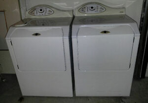 Maytag washer & dryer - front load