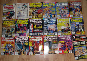 Big Collection EGM Electronic Gaming Monthly magazines Issues