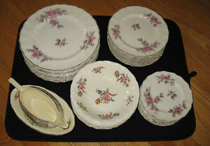 Antique Collectible Made in England China Dish Set