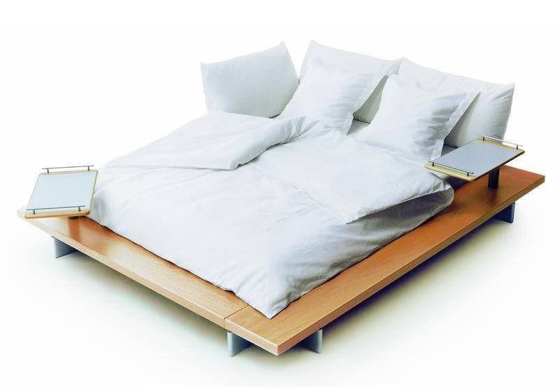 Peter Maly Ligne Roset King Size Bed Mattress not