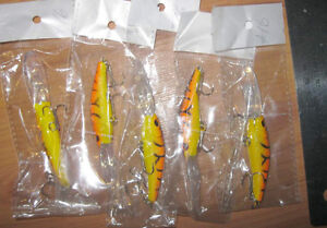 Fishing lures (bass, pike, walleye - wobblers, crank-baits) #2 West Island Greater Montréal image 8