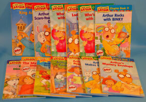 Big Lot Marc Brown ARTHUR Children Chapter Books