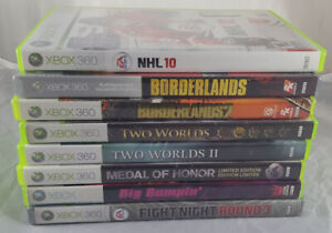 Various Xbox 360 Games & Accessories