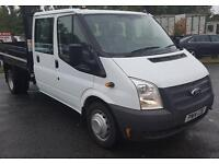 Ford Transit 350 Long wheel base double cab Tipper