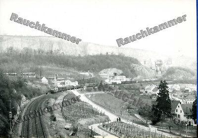 altes Baryt-Foto DB 140 xxx Istein 1974 - ca 9x14