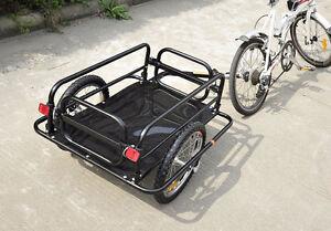 Remorque à vélo CARGO pour travail ou livrason NEUF
