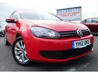 2012 12 VOLKSWAGEN GOLF 2.0 MATCH TDI BLUEMOTION TECHNOLOGY 5DR 138 BHP DIESEL