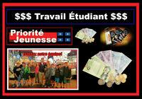 Travail pour Jeunes de Saint-Jean entre 11 et 15!!