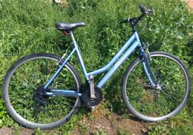 Ladies aluminium frame lightweight townbike