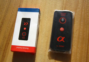 Remote Control For Sony Alpha A7R  A6000  A6300 A500 A900