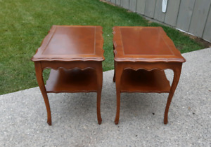 French Provincial End Tables $49each*Delivery Available*