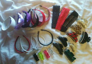 Lot of Hairbands and Claws Kitchener / Waterloo Kitchener Area image 1