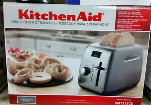 Brand new kitchen aid stainless steel toaster