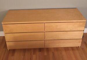 Bureau 6 tiroirs
