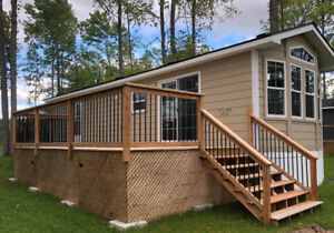 Demo Special !  Brand New Recreational Cottage Bayview Park