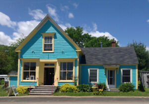 Historic store + living accommodation & studio, Bay of Fundy