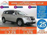 2011 CHEVROLET ORLANDO 1.8 LT GOOD / BAD CREDIT CAR FINANCE FROM 25 P/WK