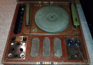 Meissner Phono Recorder 9-1065 (Record Cutter Lathe)