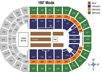 The Who Tickets - Upper, Lower, Floor seats