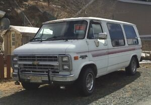 1989 Chevy Touring Van - Smooth ride- $1200