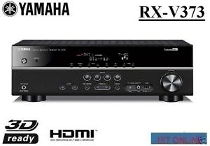 Yamaha-HTR3065-RX-V373-5-1-AV-Receiver-Home-Theatre-3D-HDMI-iPod-iPhone-Refurb