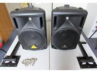 Behringer Eurolive B212A 2-Way 400 Watt Powered Loudspeakers