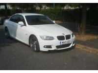 BMW 320d Convertible M Sport Manual diesel white 2012