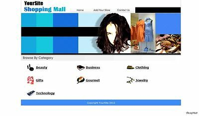 Fashion Malls Dropship Wholesale Businesses Directory Website For Sale.
