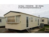 Towyn North Wales Edwards Leisure Park 8 Berth 3 Bed Platinum EDWSSA