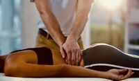 Male massage therapist, strong hands, mobile service.